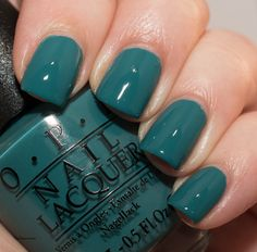 OPI Is That a Spear In Your Pocket? OPI Fiji Collection, Grön Onsdag