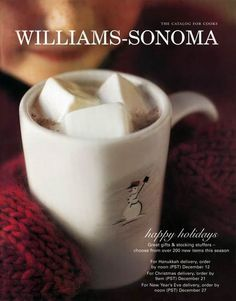 Williams-Sonoma holiday issue cover