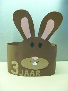 Diy For Kids, Crafts For Kids, Arts And Crafts, Paper Crowns, Animal Crafts, Kids Hats, Happy Easter, Headbands, Projects To Try