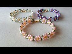 daisy bracelet ~ Seed Bead Tutorials