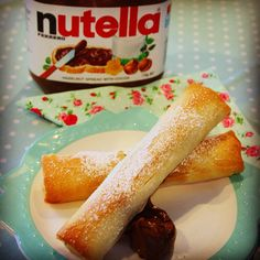 Banana & Nutella Spring Rolls