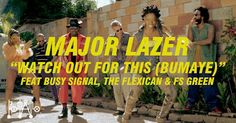fashion/dancehall style in Major Lazer 'Watch Out For This' (Bumaye) feat. Busy Signal, The Flexican & FS Green [official] Music Like, Music Is Life, New Music, Jamaica, Reggae Music Videos, Busy Signal, Dancehall Reggae, Le Concert, Major Lazer