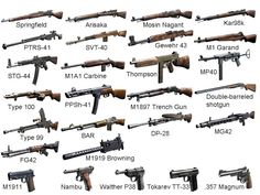WEAPONS OF WW2