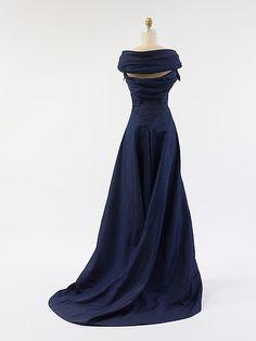 Evening dress. Jean Dessès, ca. 1948 (back)