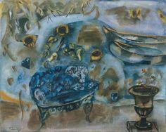 Frances Hodgkins 'The Lake', c.1930–5   gouache © Tate