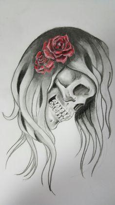 My Drawings, Female, Tattoos, Art, Art Background, Tatuajes, Kunst, Japanese Tattoos, Tattoo