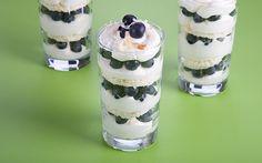Lemon Blueberry Trifles