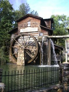 """DollyWood's """"Old Grist Mill"""""""