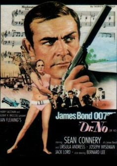 James Bond 007 - Dr. No - Movie Poster #James #Bond