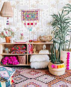 Boho Bedroom Decor Elegant the Best Bohemian Decor Inspiration Let S Jungalicious now Bohemian Interior, Home Interior, Interior Design, Home Design, Design Ideas, Design Trends, Design Shop, Scandinavian Interior, Interior Ideas
