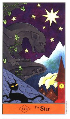 from the lovely and whimsical Halloween Tarot by Kipling West. Tarot Significado, Whimsical Halloween, Halloween Art, Star Tarot, Pagan Art, Tarot Major Arcana, Tarot Card Meanings, Tarot Card Decks, Witch Art
