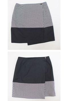 Osaka reversible wrap skirt by Colette Patterns