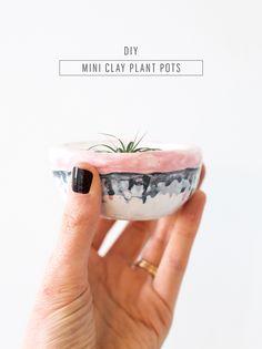 Mini DIY Plant Pots