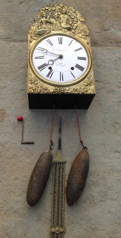OnlineGalleries.com - French Comptoire Clock.