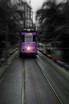 Travel in Purple style