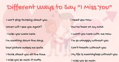 "40+ Cool Ways to Say ""I Miss You"" in English - ESL Buzz"