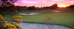 Lostaday @ The Royal Melbourne Golf Club