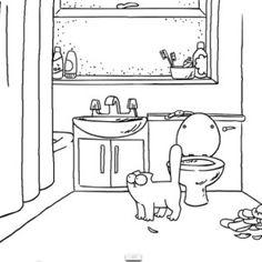 Simon's Cat va in cerca di cibo e trova il suo umano in bagno che sta facendo la doccia...