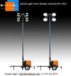 Global Light Tower Market Outlook - FranknRaf Market Research Future Trends, Global Market, Work Lights, Market Research, Geography, South America, Tower, Technology, Marketing