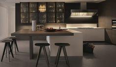 Cozinhas com design moderno