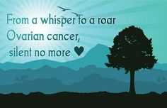 Ovarian cancer Awareness Month September.