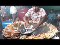 Super fast Cooking Skills of Making Burgers. Egg Anda Bun Kabab Making at Street Food of Karachi Pakistan. This Bun Kebab is Amazing in taste you must tr. Karachi Pakistan, Biryani, Beer Brewing, Egg Recipes, Food Design, Yummy Food, Make It Yourself, Cooking, Health