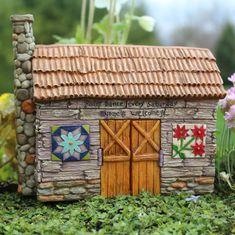 Fairy Garden Miniature Fairy Barn
