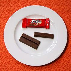 Kit Kat, M&Ms, Reese's Peanut Butter Cups & Skittles :-)