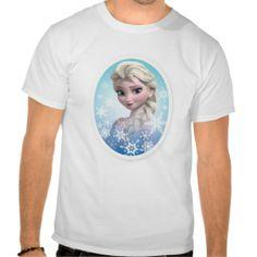 Elsa Snowlake Frame Tshirts