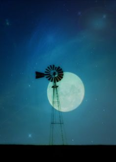 windmill to the moon