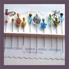 decorative pins