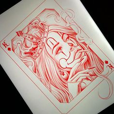 Chicano Art Tattoos, Chicano Drawings, Gangsta Tattoos, Daddys Girl Tattoo, Girl Face Tattoo, Chicanas Tattoo, Card Tattoo, Tattoo Design Drawings, Tattoo Sketches