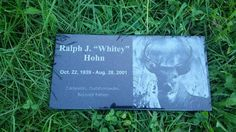 Personalized Pet Dog Human Stone Memorial Engraved by PetStonesUSA