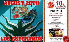 ¡#Agosto de #promociones en La Milpa! #August Everyday #Promo at La Milpa! #24HRS  #LaMilpaRVA - Real #Mexican #Food & #Market 6925 Hull St. Rd. #Richmond, #VA 23224-2547 lamilpaonline@gmail.com http://buff.ly/2b51UsV (804) 276 3391  #Lunes #Monday #OFF #Discount #Descuento #Gratis #Free #RVA #Virginia #Restaurant #Foodie #rvadine #loveVA #visitrichmond #rvafood