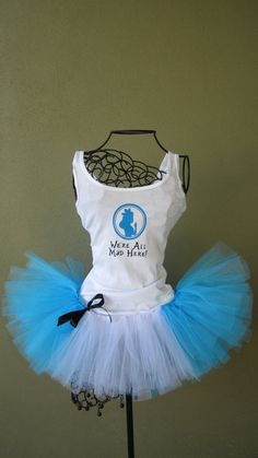 Running Tutu Disney Princess Inspired Alice and by LuckyNumberTutu,   I am IN LOVE with this!
