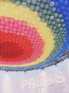 modefabriek ss13 season press corner #colorful #balloons