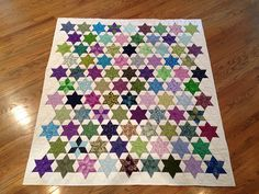 EPP star quilt from 60 degree diamond quilt along. Untitled | Flickr - Photo Sharing!