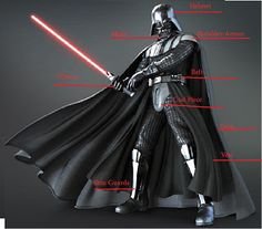 DIY Project Crazy: Home Made Darth Vader Costume Randy