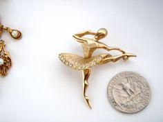 Vintage Marcel Boucher  Ballerina /Dancer Brooch by Jewelrin, $156.00