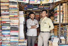 Second hand book shop owner is now an author: http://www.mid-day.com/articles/it-happens-only-in-mumbai-std-vii-pass-goes-from-selling-books-on-footpath-to-landing-his-own-novel/17198168