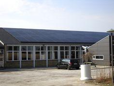 Svenstrup Efterskole: 105 kWp. Læreboliger 22 kWp
