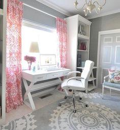 Den - contemporary - home office - C. Simone