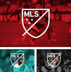 New logo and brand identity for MLS by Athletics and Berliner Benson. Personally, I think this is an incredible rebranding. I'm excited for the growth of Major League Soccer.