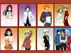 My new fave anime Fruits Basket