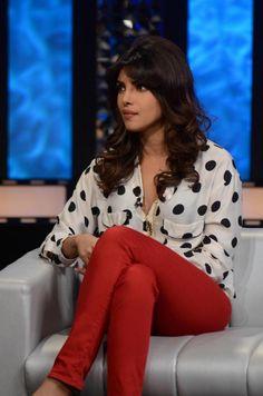 Priyanka Chopra on The Front Row: #Hair