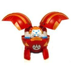 Bakugan Battle Brawlers Game Single Loose Figure Griffon [Red] [Toy]:Amazon:Toys & Games