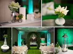 Blue and green wedding we love from Melissa Jill Photography