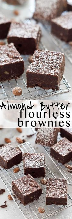 Bet Flourless Brownies | Healthy, Easy, Low Carb, Vegan, Cocoa, Paleo, Gluten Free, Rich Fudgy, Recipe