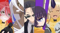 Anime Monster Musume  Doppel (Monster Musume) Zombina (Monster Musume) Smith (Monster Musume) Manako (Monster Musume) Tionishia (Monster Musume) Everyday Life With Monster Girls Fondo de Pantalla