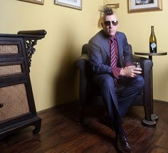 Maynard James Keenan Has Two Things on His Mind: Puscifer and Wine. Tool Fans Will Just Have to Wait